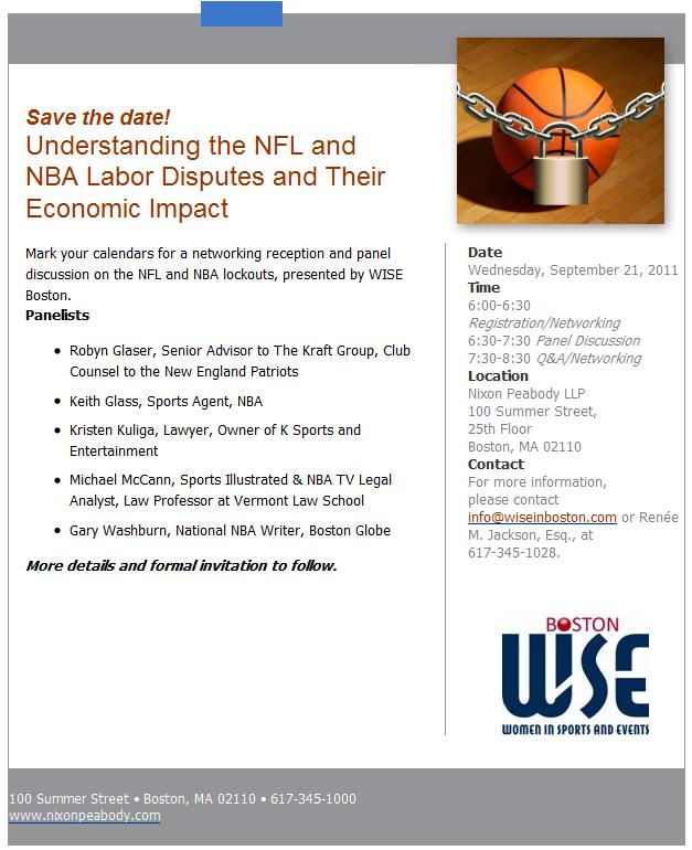 discussion about the national basketball association and its labor agreement Purpose - the purpose of this paper is to analyze the 2011 national basketball association (nba) lockout and collective bargaining agreement (cba) design/methodology/approach - using a bargaining game model, the authors show that.