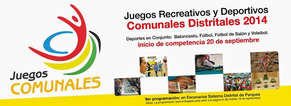 Juegos Comunales Distritales 2014