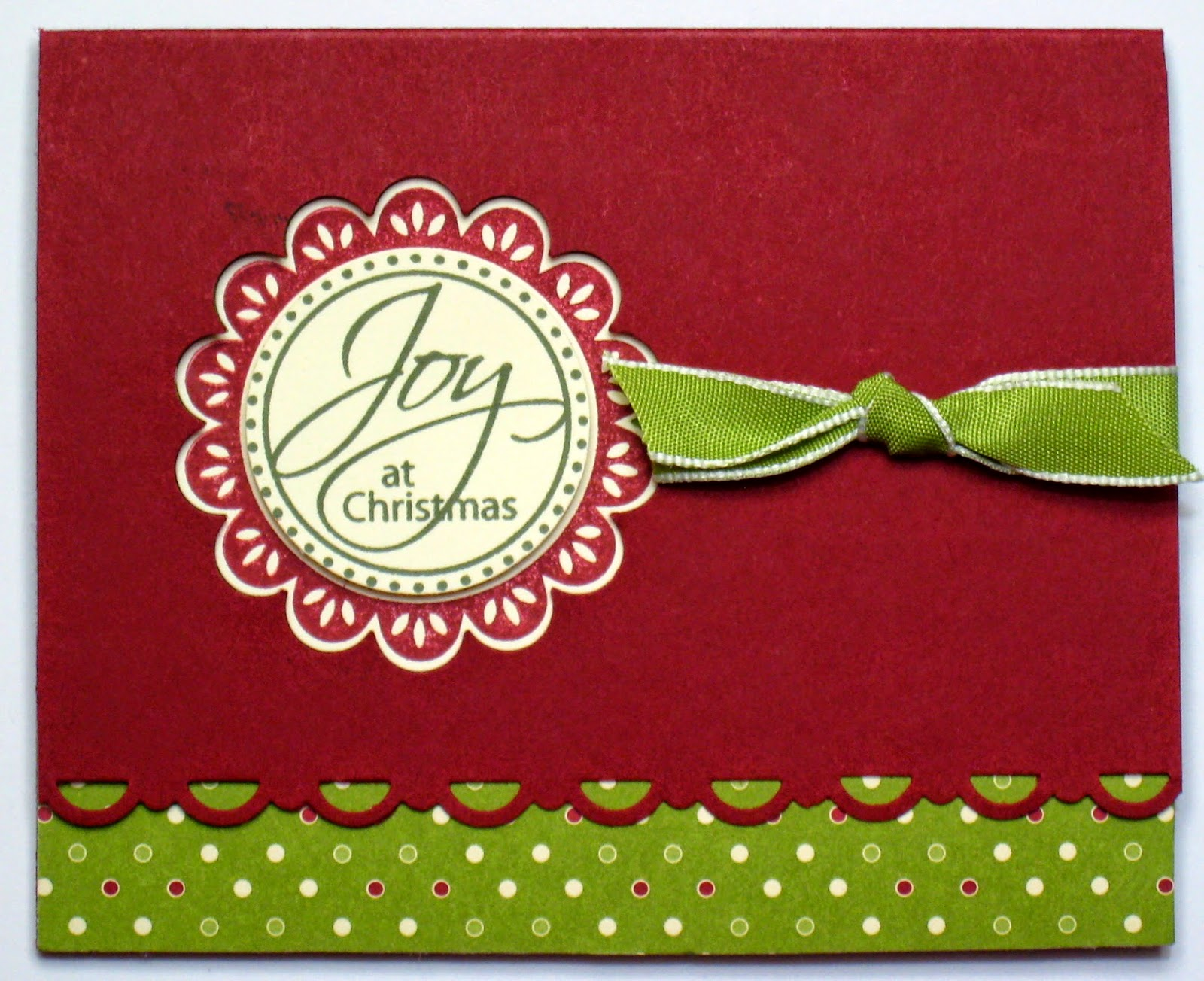 Colour Me Happy Tutorial Time Christmas Tree Gift Card