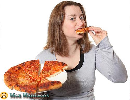 Comer apenas Pizza
