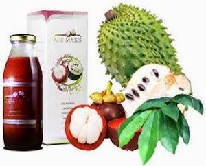 Ace Max's | Kulit Manggis dan Daun Sirsak | Rp. 220.000/botol