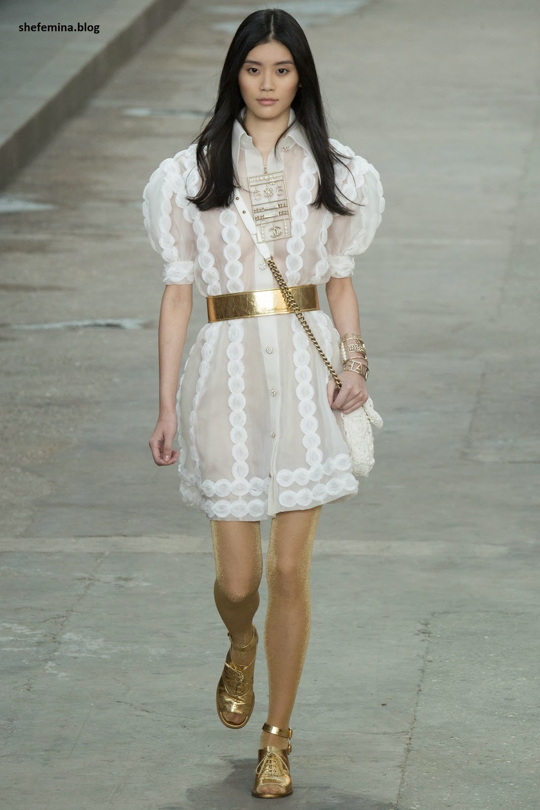 Chanel Spring 2015 dresses HD wallpaper 27
