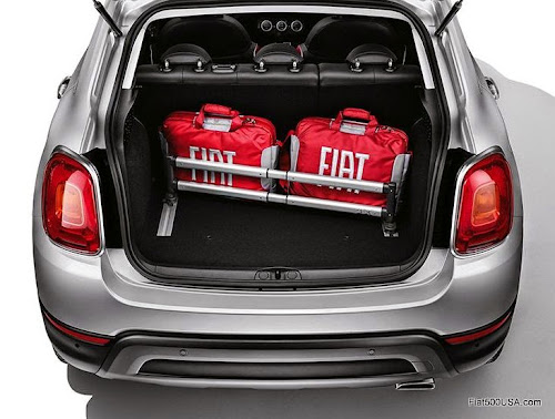 Fiat 500X Cargo Containment System