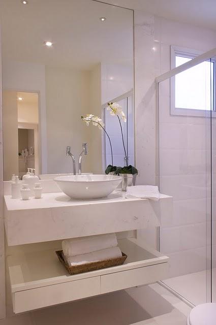 Val new e lucas decorando o ap banheiro e lavabo 2 em 1 for Armarios para lavabos