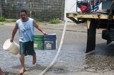 Maturin (400.000 habitantes) ficou sem agua potável
