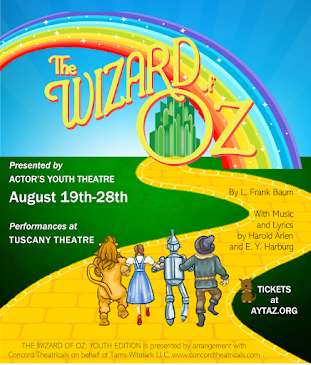 THIS MONTH'S SITE SPONSOR: Actor's Youth Theatre presents...