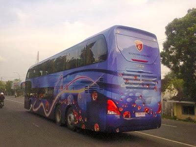 Foto MAN R37 Bus terbaru Nusantara Gemilang