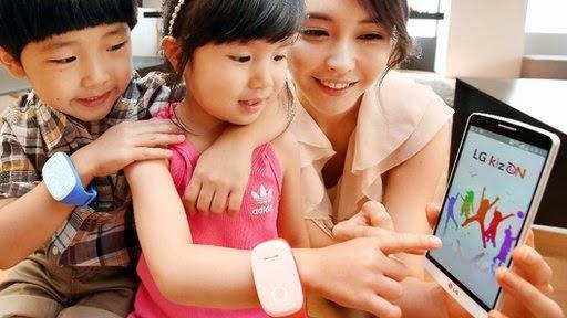 LG introduces kizON, kizON, LG, kizON smartwatch, smartwatch, smartwatch for children, geotag, monitoring, mobile, kizON for children,