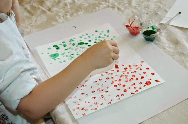 Mexican Flag Craft for Kids for Cinco de Mayo