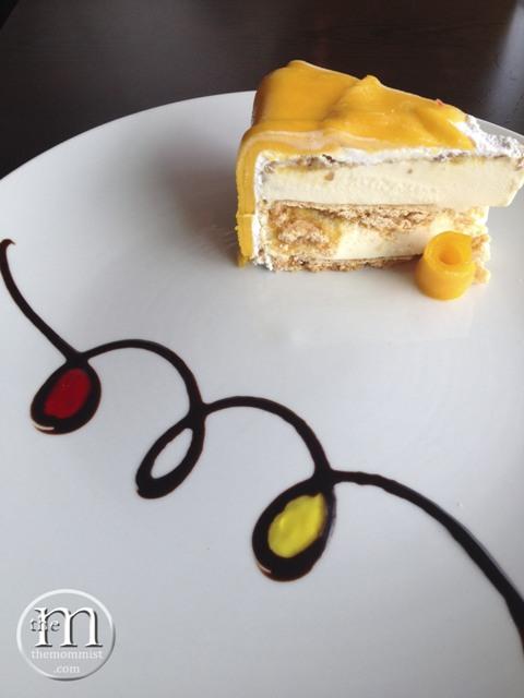 A slice of Gelato Cake