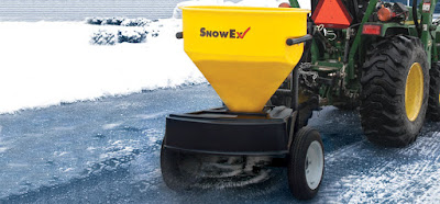 SnowEx SP-1255G salt spreader