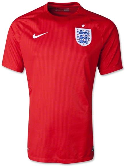 England World Cup 2014 Nike Away Football Shirt