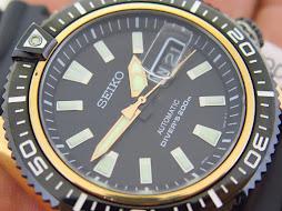 SEIKO DIVER STARGATE BLACK DIAL - SEIKO SRP500 - AUTOMATIC 4R36