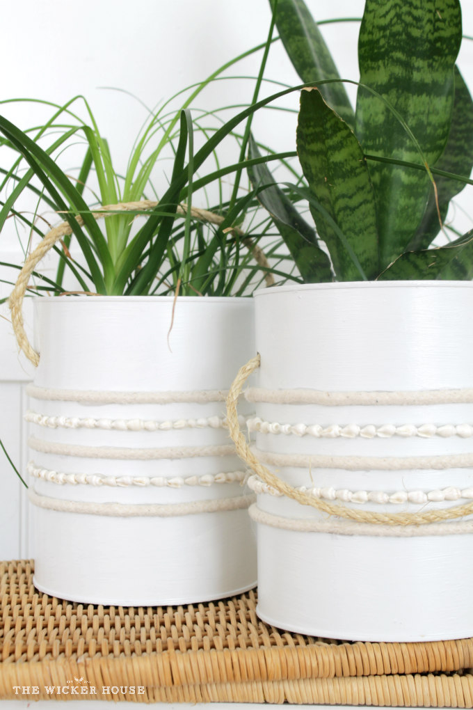 DIY Farmhouse Plant Holders