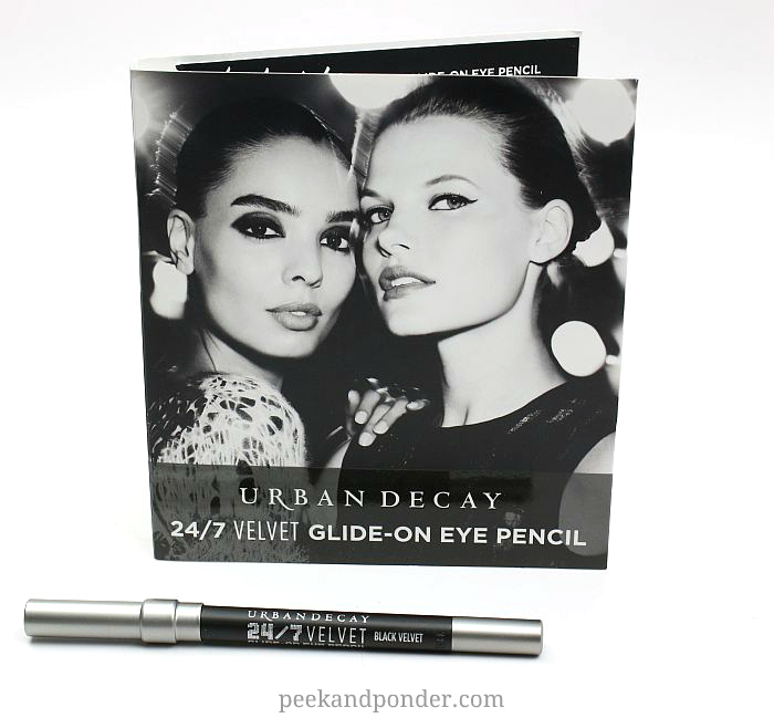 Urban Decay black velvet 24/7 pencil