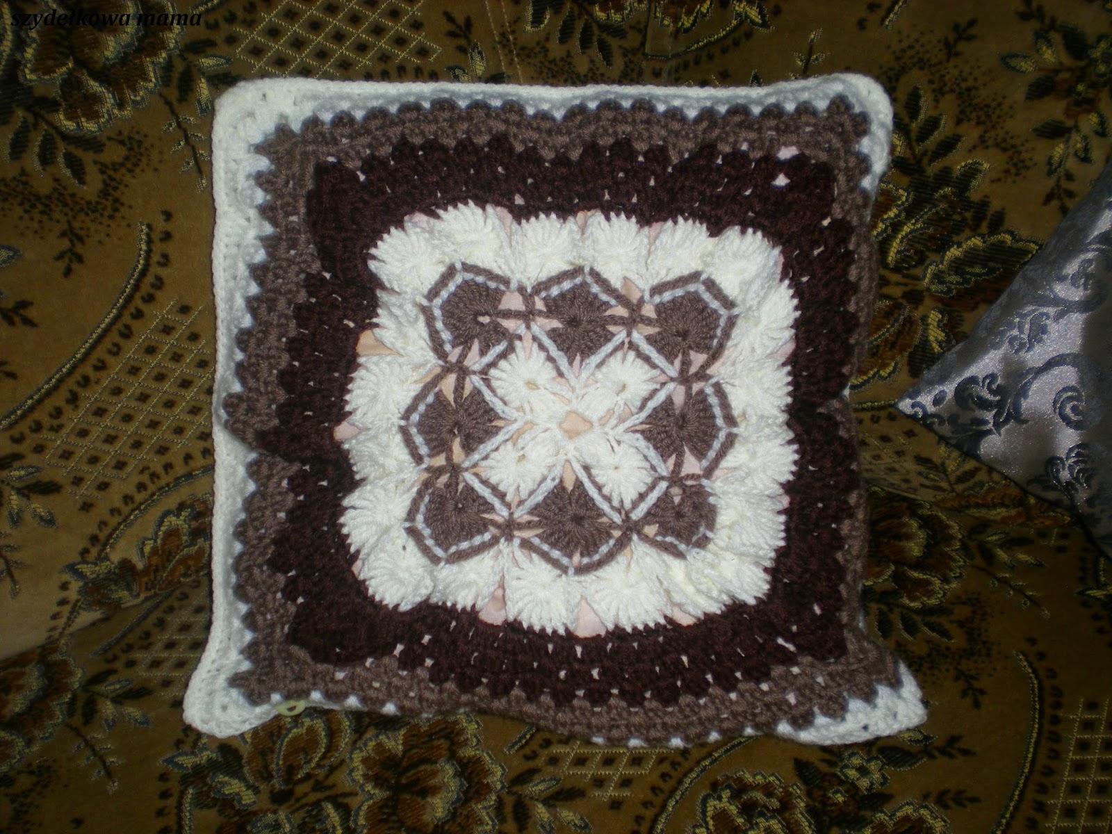 Poszewka z bavarian crochet