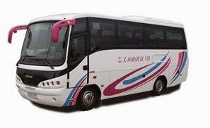 microbús autocares zambruno