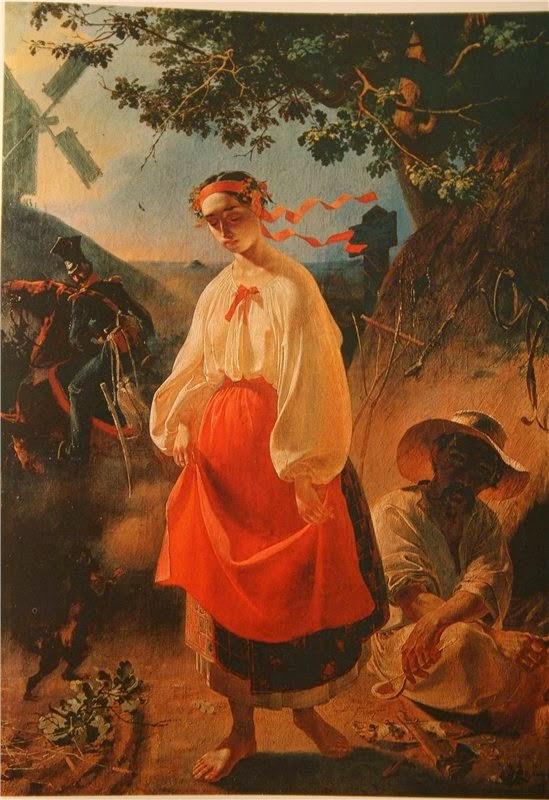 Тарас Шевченко. Катерина. 1842 г.
