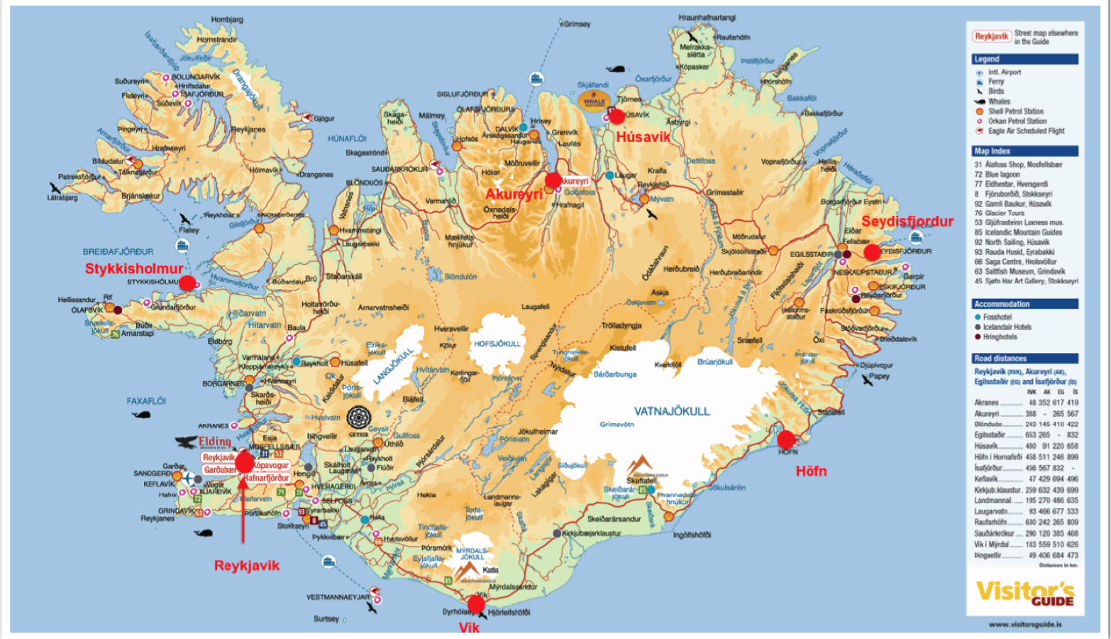 PINTI PETER ICELAND MAPS IZLANDA HARITASI – Tourist Map Of Reykjavik