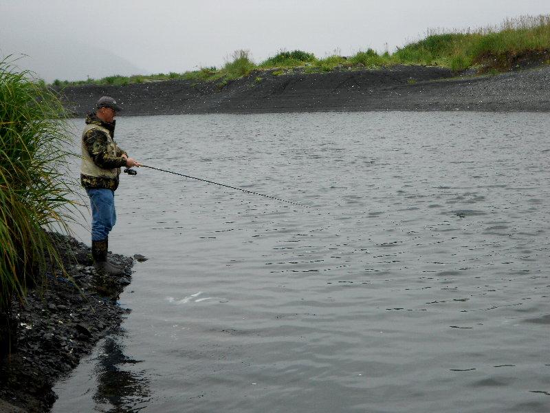 From kansas to kodiak buskin river salmon fishing with for Fishing in kansas