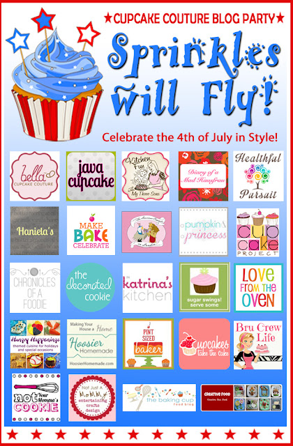cupcake couture blog party sprinkles will fly 4th Of July
