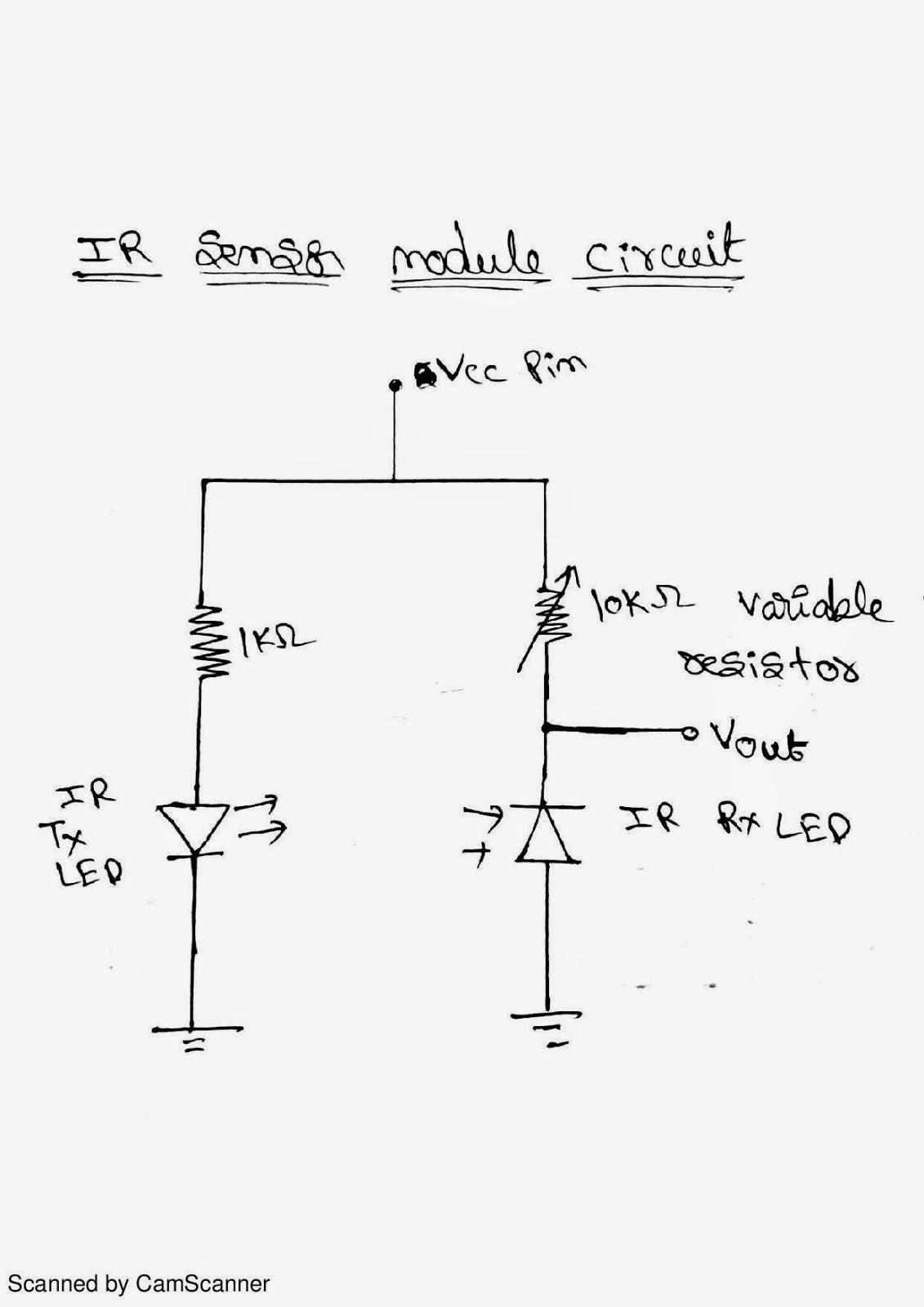 Simple IR sensor Circuit