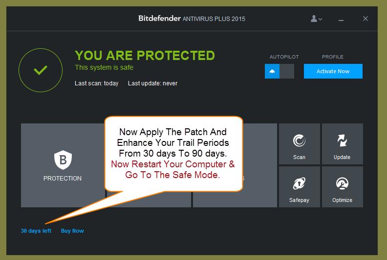 Patch bitdefender antivirus plus 2014