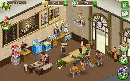 Coffee shop cafe business sim apk hack mod download apk for free