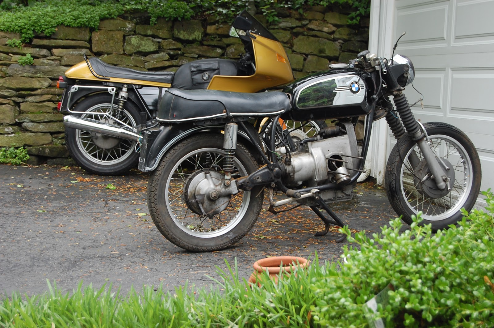 Nice Ridgid Harley Davidson Sportster Bmw Cafe Project Nelsons 1970 The R75 5 Racer
