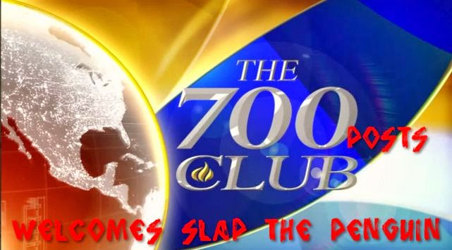 The 700 (posts) club welcomes Slap the Penguin