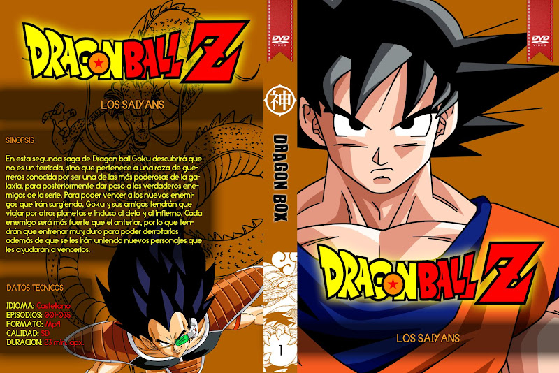 Capa DVD Dragon Ball Z