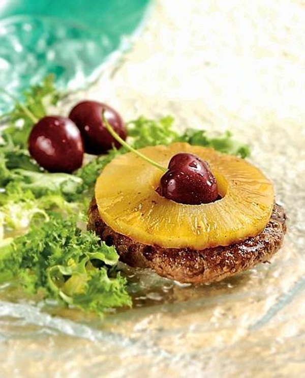 Hamburger All'ananas