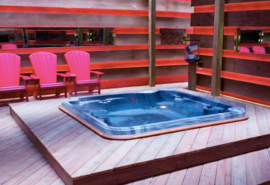 Big Brother Canada 2 Hot Tub