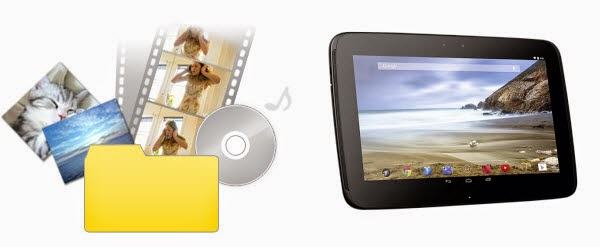 Convert All Media Files for Playback on Nexus 10 Tablet