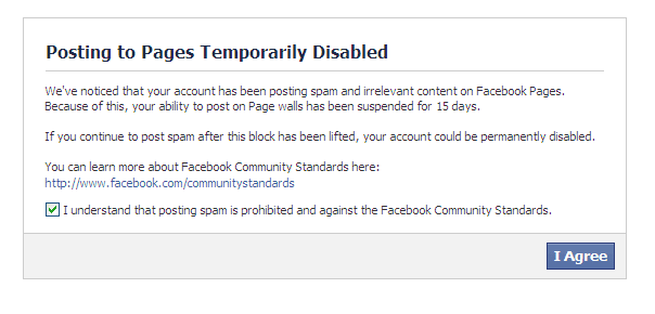 facebook suspended