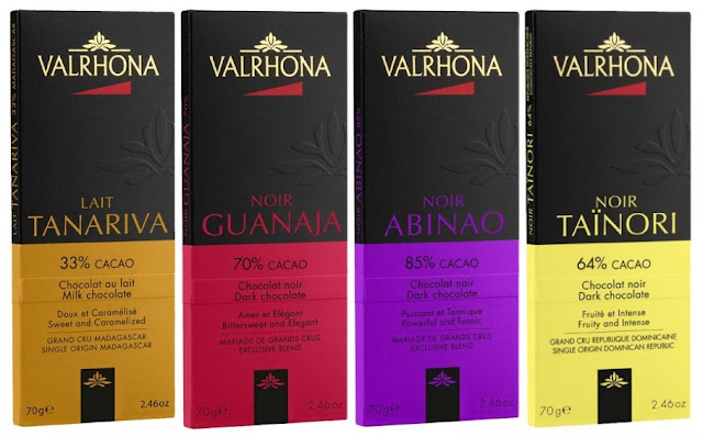 valrhona redessine son emballage nouveau graphisme new design