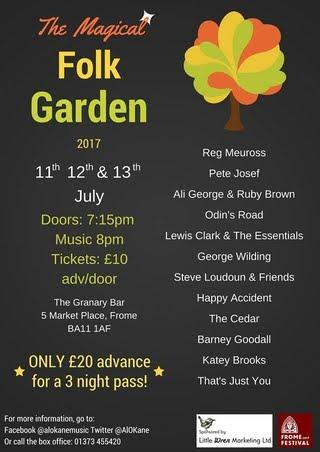 Folk Garden, Frome Festival 17
