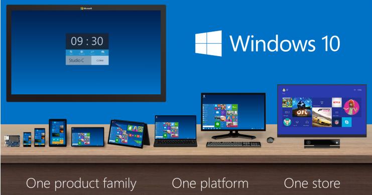 免費之外,微軟 Windows 10 推出前七個必看新特色