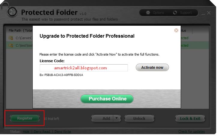 iobit protected folder 94FBR