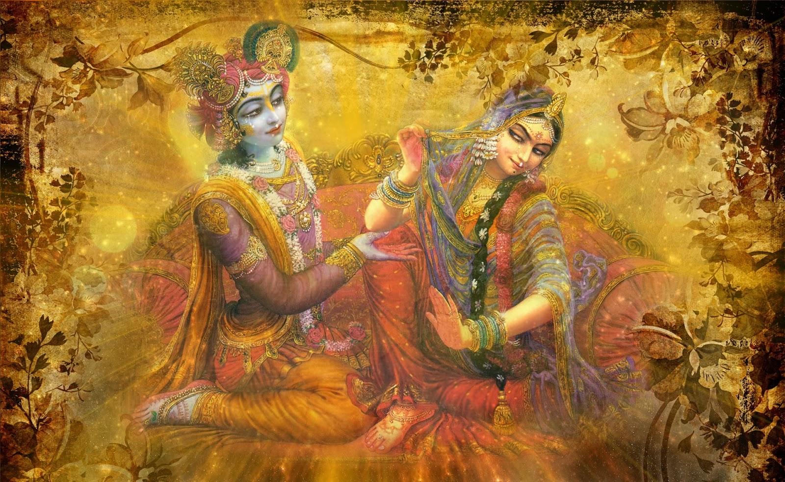 Happy holi radha krishna images - Holi 2014 Wallpapers Radha Krishna In Holi