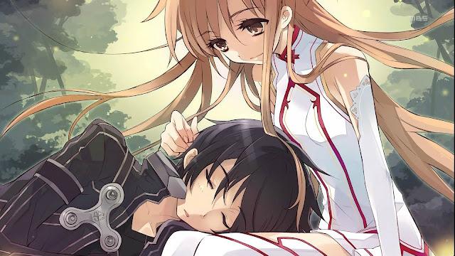 Sword Art Online Kirito Asuna 0013