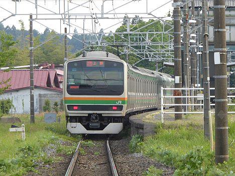 快速ラビット 上野行き E231系