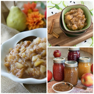 Top Ten Slow Cooker Applesauce Recipes from SlowCookerFromScratch.com