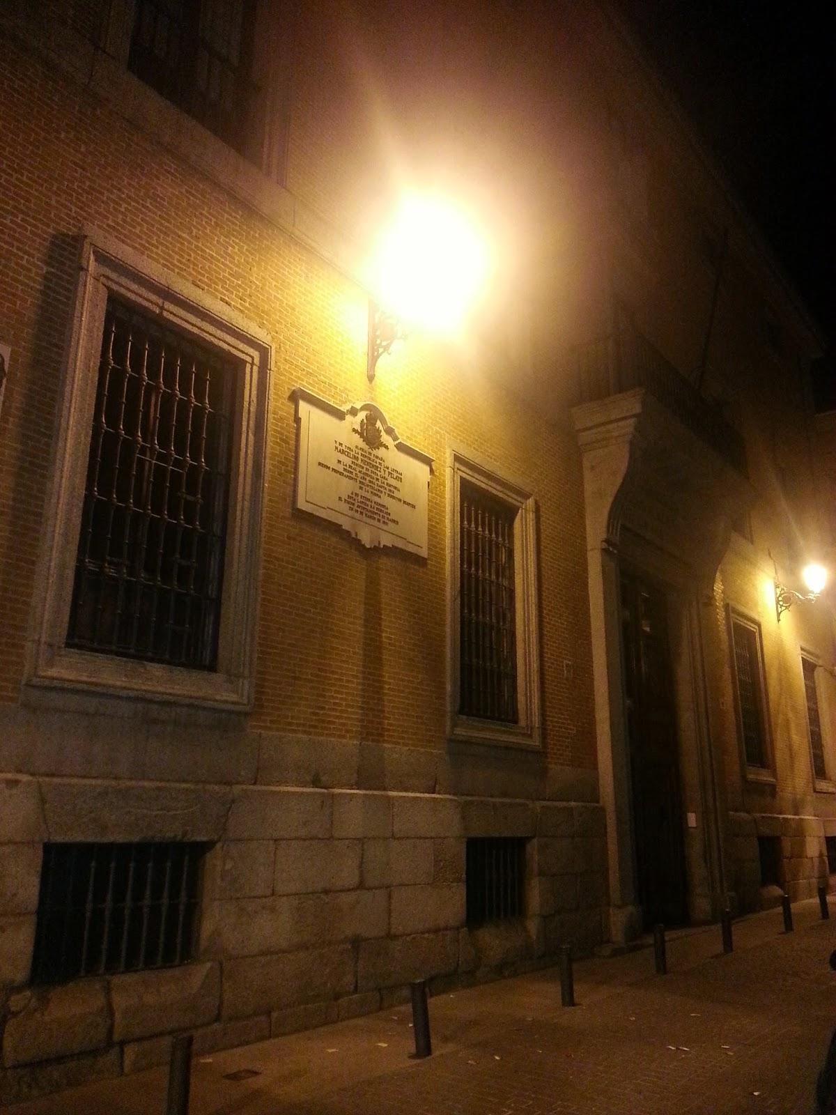 Barrio de las Letras. Madrid. La Mucca. Inspección Tabernaria