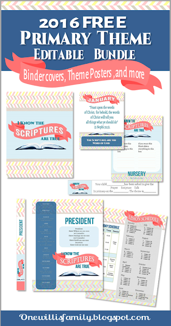 2016 Primary Theme bundle