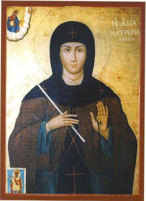 ST. MATRONA of Chios