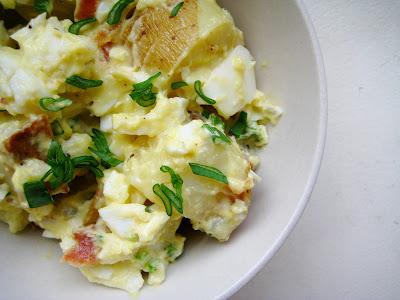 Sam Tan's Kitchen: Spring Potato Salad with Crispy Bacon