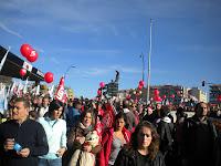 Manifestación 14-N Praza de España Vigo