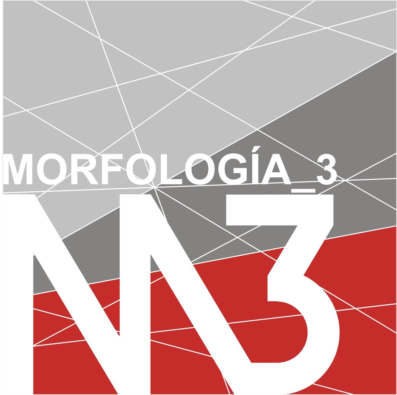 MORFOLOGÍA 3 | COMUNICACIONES 3