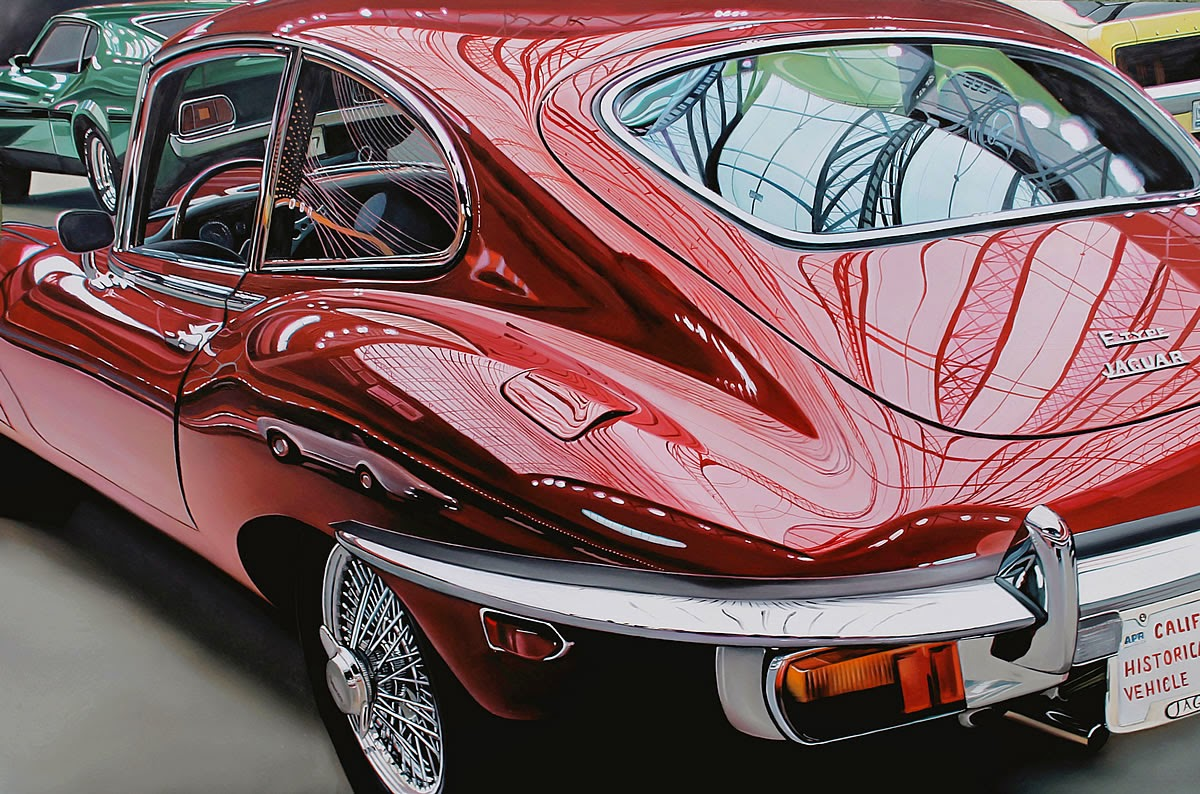 Simply Creative Classic Muscle Cars Paintings By Cheryl Kelley